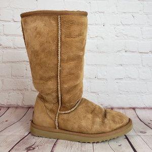 UGG Tan Light Brown Tall Classic Boots